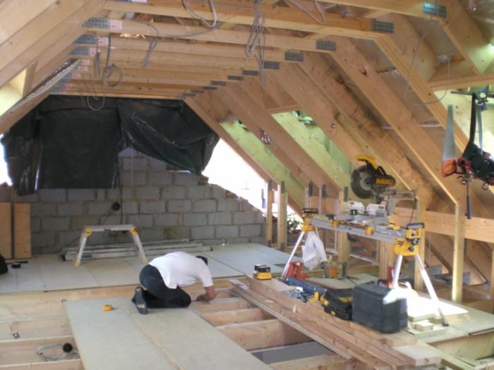 low ceiling basement storage ideas - Loft Conversion Beckenham SE20 from HomeMates
