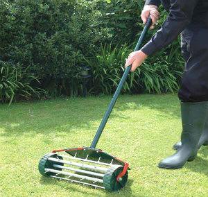 Lawn Aerating